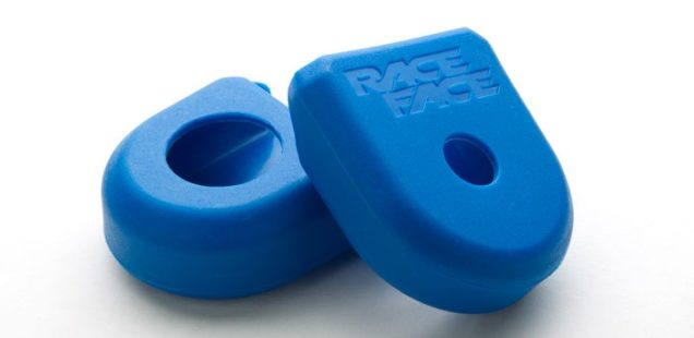 Protect carbon cranks with RaceFace Crank Boots