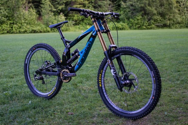 Transition Bikes TR450 with Fox 40