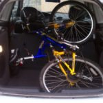 2003 Ford Focus Hatch with Mountain Bike Inside