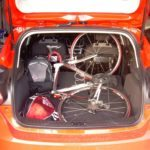 2012 Ford Focus Hatch fits a 58cm Road Bike Inside