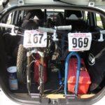 Honda Fit Mountain Bikes Inside