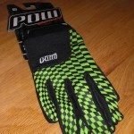 POW Slick Gloves in green
