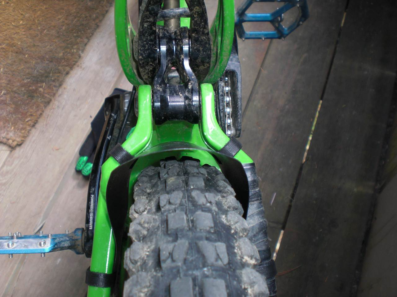 Mudguard for Mucky nutz bender fender template
