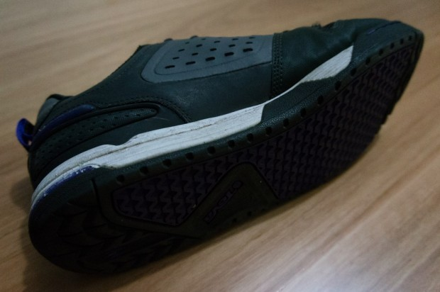 Teva Links shoe soles use Spider 365 rubber and T.I.D.E. tread