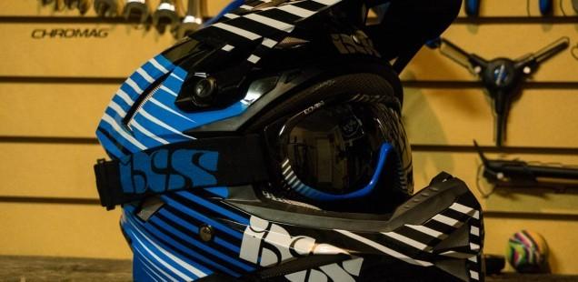 iXS Metis Slide Helmet with Combat Goggles