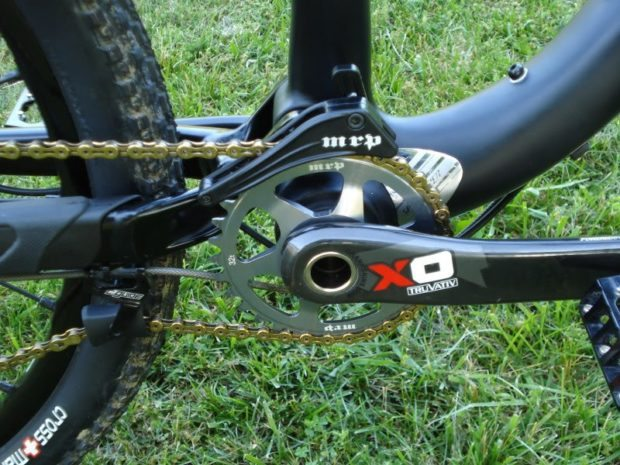 MRP Bling Ring Direct Mount 1x Chainring on SRAM X0 Cranks