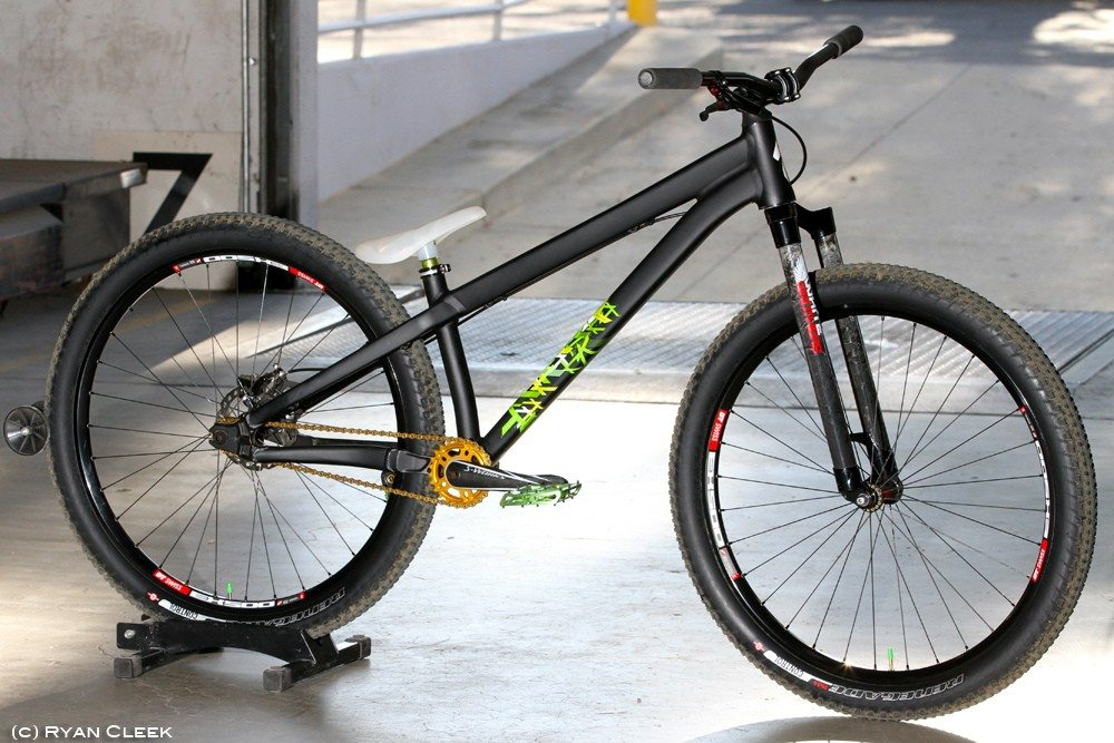specialized stumppumper custom pump track bike setup