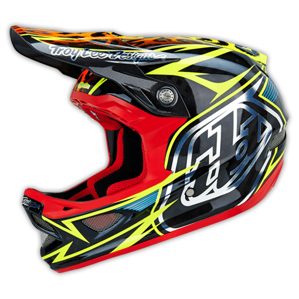 Troy Lee Designs D3 Carbon Full Face Helmet