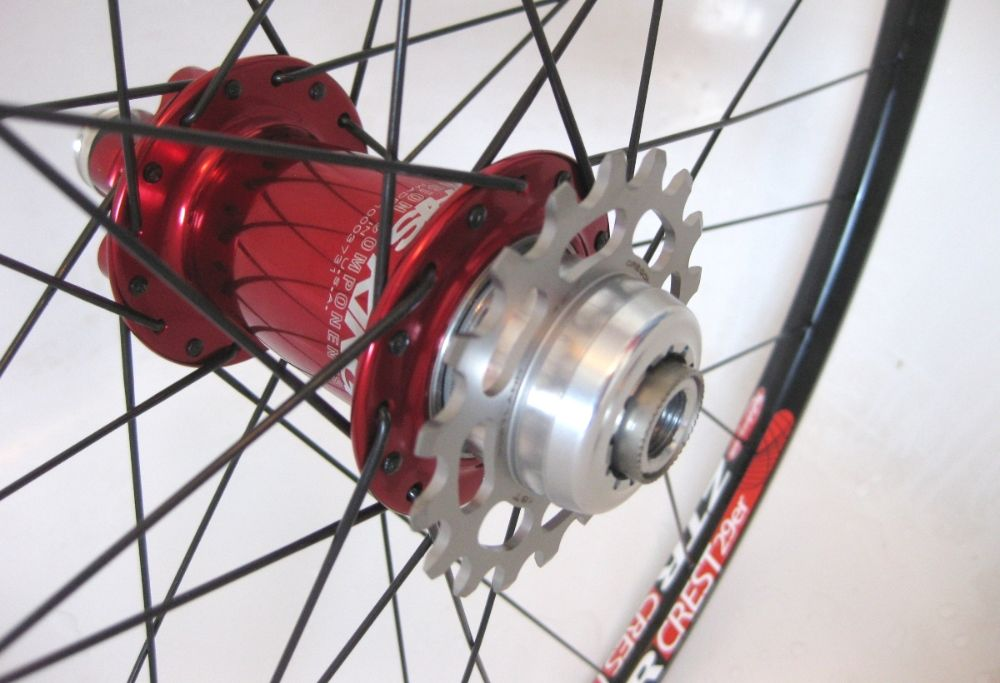 Single Speed Wheelsets And Hubs