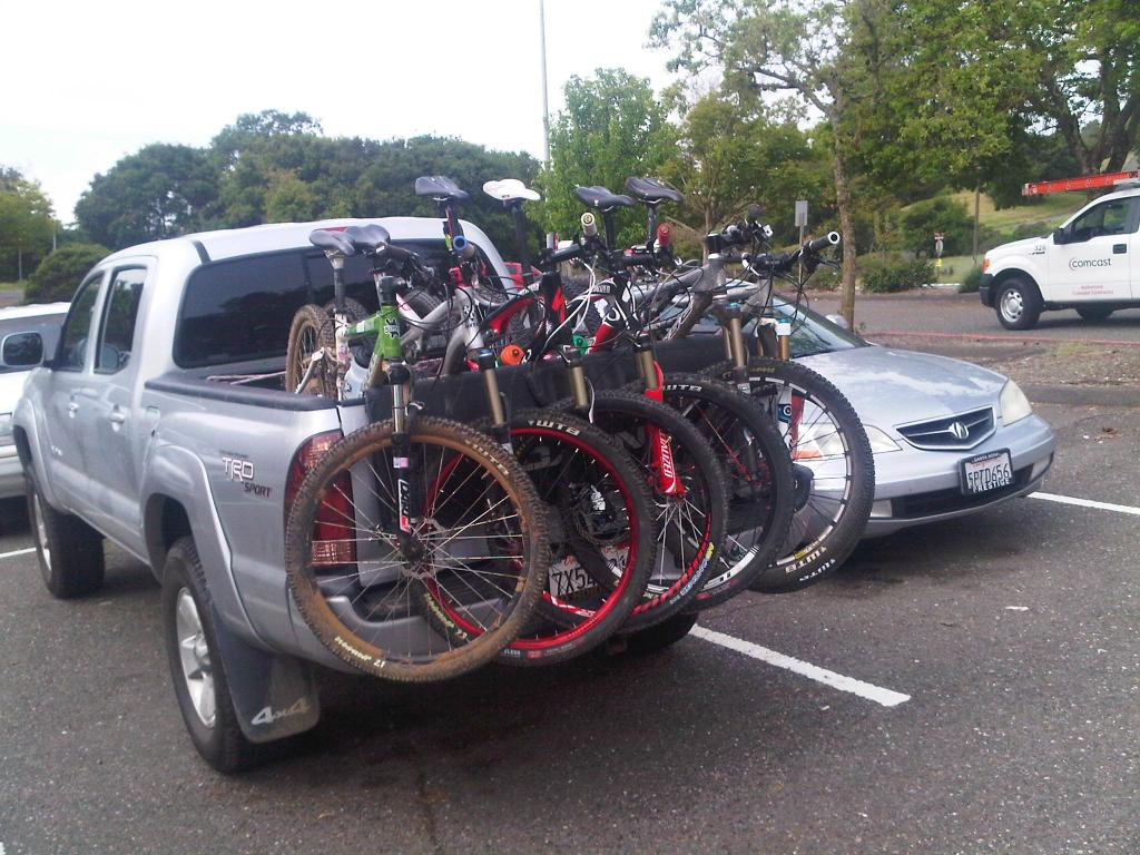 Toyota Tacoma Rack >> Best Car for Mountain Bikers | Ride More Bikes