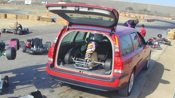 Volvo V70 Wagon Cargo Space